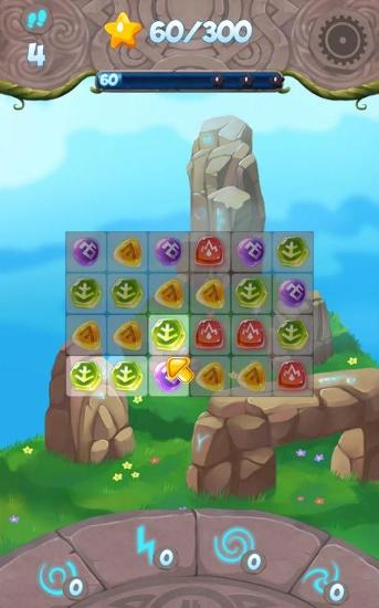 Paradise of runes: Puzzle game for Android