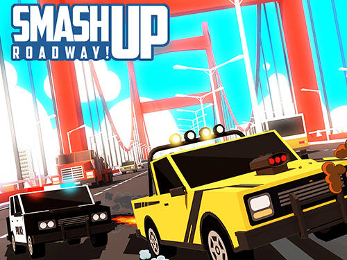 Smashy road rage: Smash up roadway! captura de pantalla 1