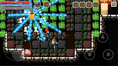 Flame knight: Roguelike game für Android