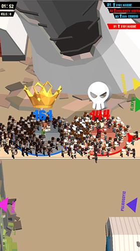Infect wars.io скриншот 2