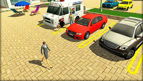 Parking lot: Real car park sim für Android
