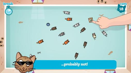 Time killer games Nippy cats in English