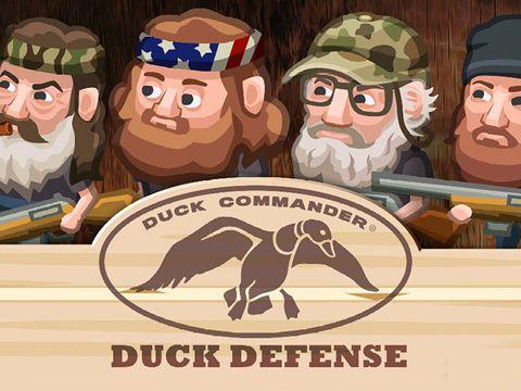 logo Duck commander: Duck defense