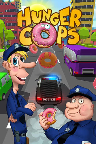 Hunger cops: Race for donuts Symbol