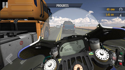Motorcycle racing Screenshot