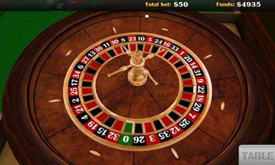 Glücksspiel Roulette 3D für das Smartphone
