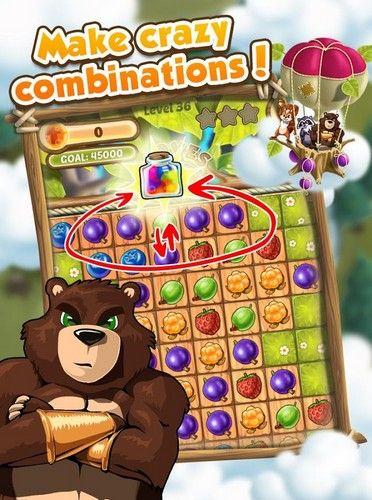 Arcade-Spiele Berry king für das Smartphone