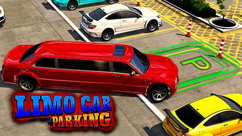 Limousine car driving real parking скриншот 1