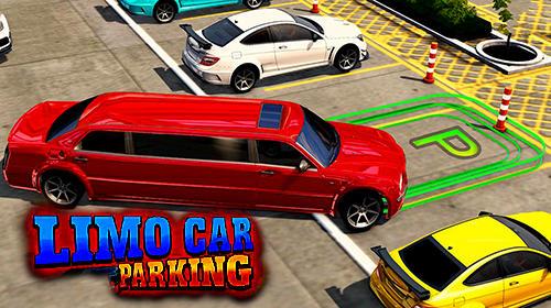 Limousine car driving real parking captura de tela 1