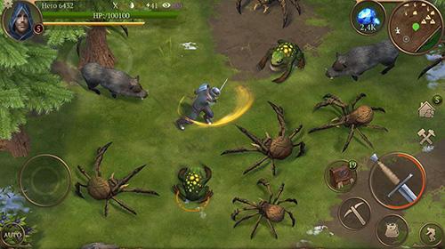 RPG d'action Terres sauvages: Saga de survie en français