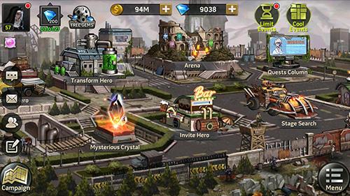 RPG Zombie strike: The last war of idle battle für das Smartphone