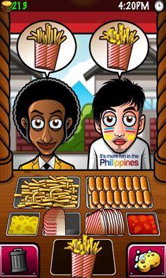 Arcade Streetfood Tycoon World Tour für das Smartphone