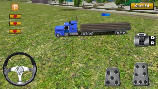 Trucker-Spiele 18 wheeler truck simulator auf Deutsch