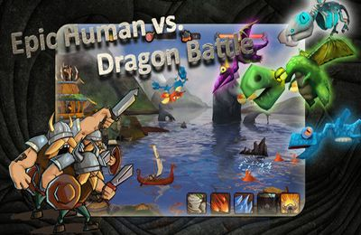 Strategy games: download Vikings vs. Dragons to your phone