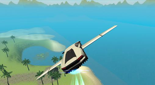 Flying car: Extreme pilot Screenshot