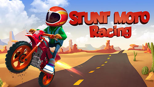 Stunt moto racing Screenshot
