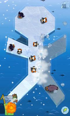 Reaktionsspiele Slice Ice! auf Deutsch