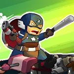 Captain zombie: Avenger icône