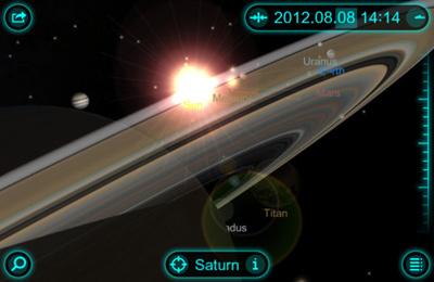 La Balade dans le Système Solaire 3D pour iPhone gratuitement