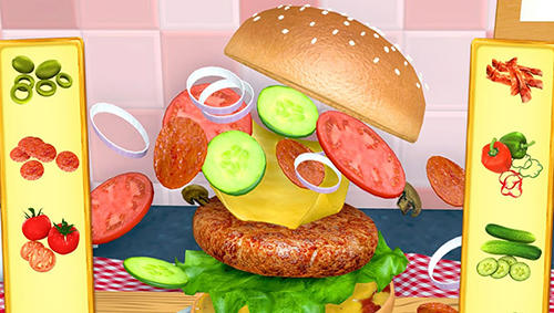 Burger maker 3D für Android