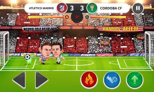 Head soccer: La liga screenshot 1
