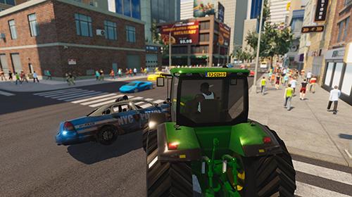 Open world games Gangster and mafia grand Vegas city crime simulator in English