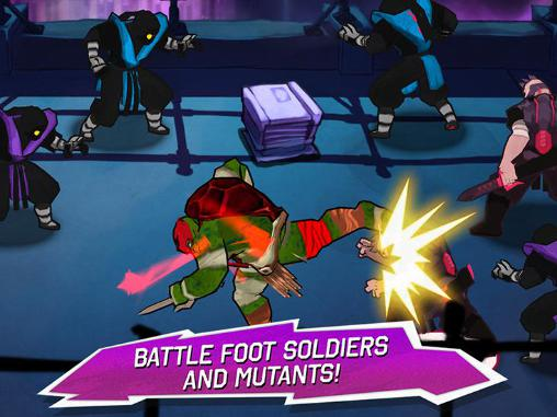 Arcade-Spiele Teenage mutant ninja turtles: Brothers unite für das Smartphone