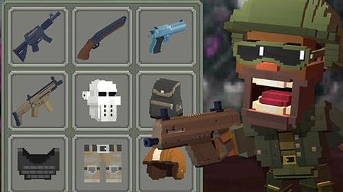 Guns royale: Multiplayer blocky battle royale captura de tela 1