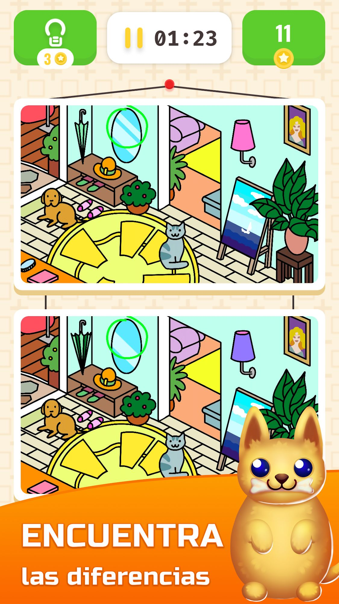 Roomspector - Find the differences para Android