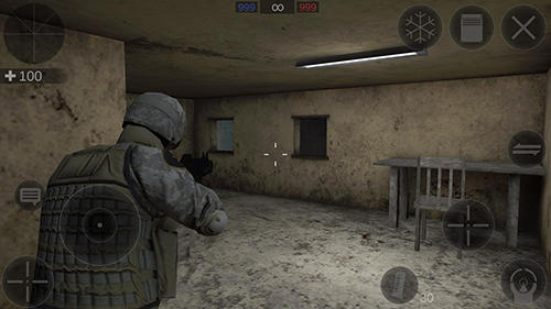 Actionspiele Zombie combat simulator für das Smartphone