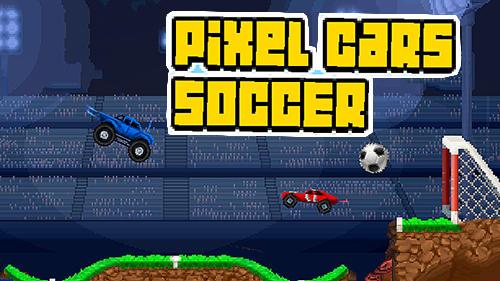 Pixel cars: Soccer Screenshot
