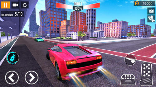 City car racing simulator 2019 для Android