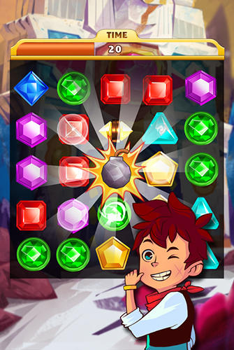 Jewel mania: Mystic mountain für Android