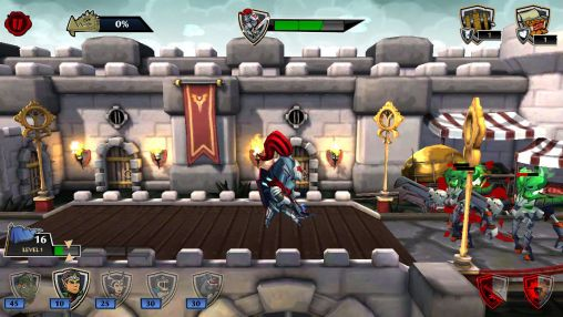 Defenders & dragons для Android