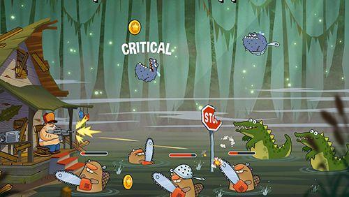 Screenshot Sumpfangriff auf dem iPhone