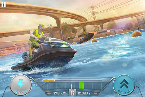 Boat racing 3D: Jetski driver and furious speed for Android