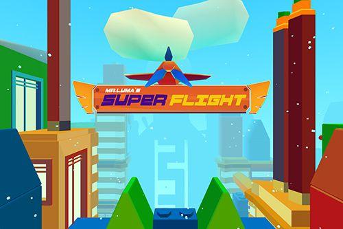 логотип Супер полет мистера Люма