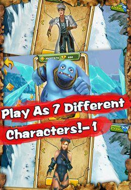 Jogos de arcade: faça o download de Corredor em Neve para o seu telefone