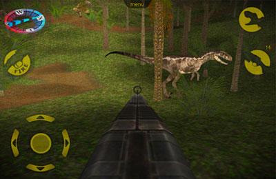 Скриншот Охота на Динозавров на Айфон