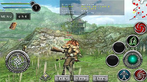Avabel online RPG Screenshot