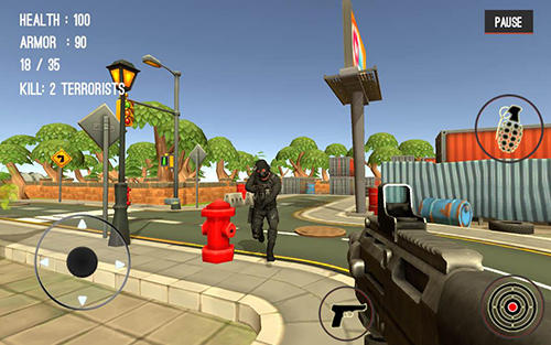 Counter attack terrorist city for Android