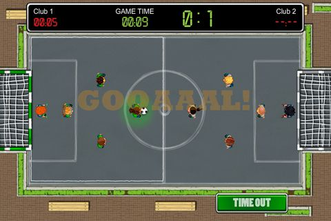 Tiny soccer for iPhone
