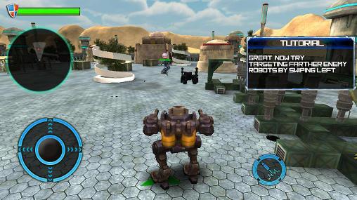 Mech robot war 2050 screenshot 4