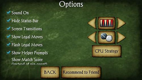 Brettspiele Backgammon free für das Smartphone