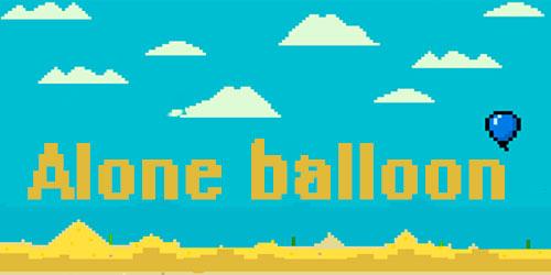 Alone balloon Symbol