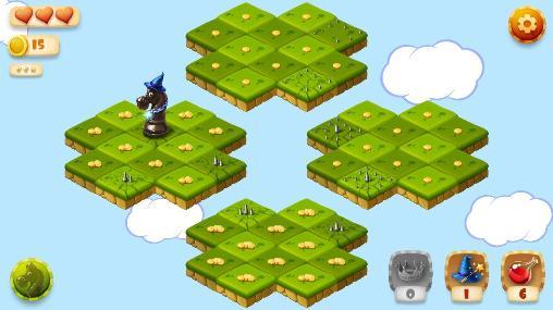 Logikspiele Knight's tour für das Smartphone
