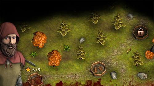 Strategiespiele Three defenders 2: Ranger für das Smartphone