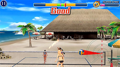 Sports games Beach volleyball paradise for smartphone
