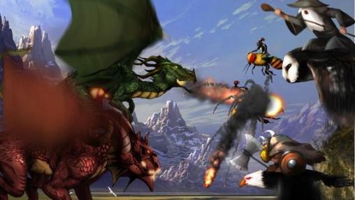 Аркады игры: скачать The desolation of dragons на телефон