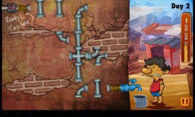 Slumdog Plumber & Pipes Puzzle скріншот 1